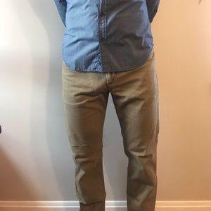 Tan Hudson Jeans
